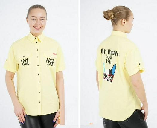 Распродажа блузки рубашки 1006319