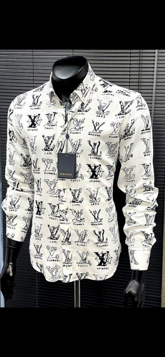 Мужские рубашки 1012111