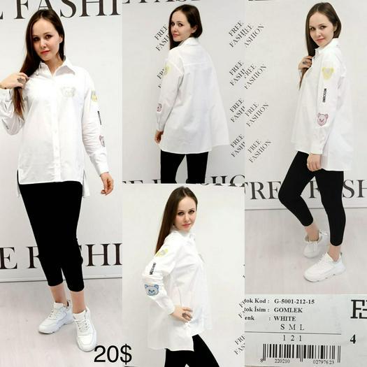 Женские рубашки 1057091