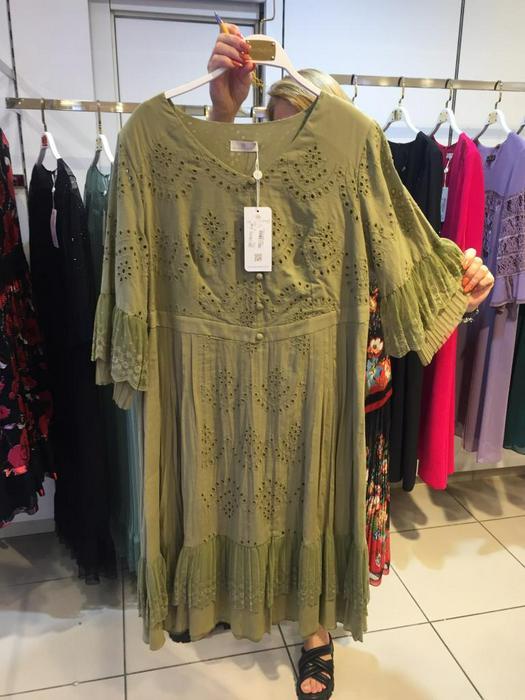 Большие размеры платья 1011118