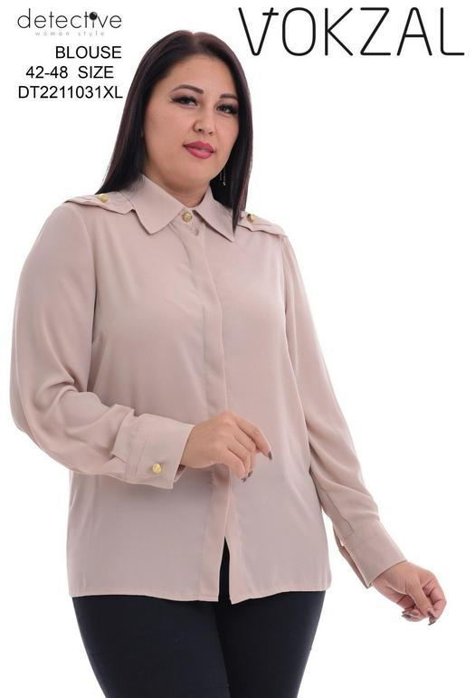 Блузки баталы 1037267