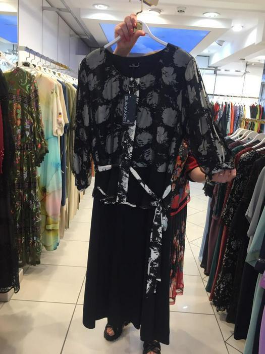 Большие размеры платья 1011115