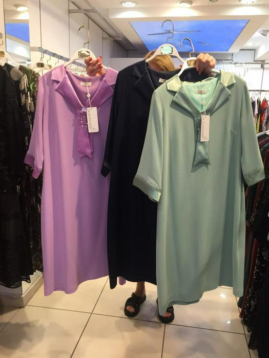 Большие размеры платья 1011112
