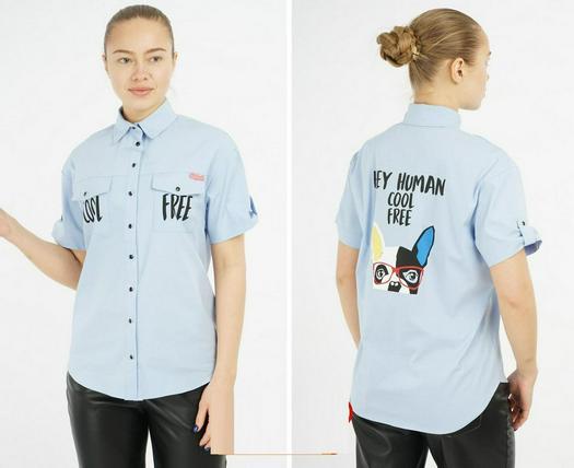 Распродажа блузки рубашки 1006318