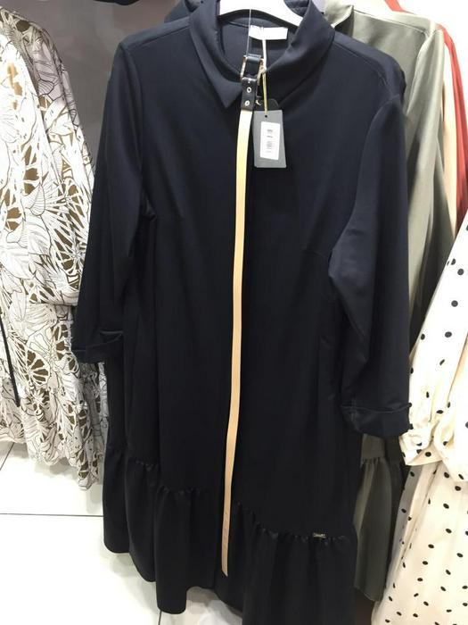 Большие размеры платья 1012204