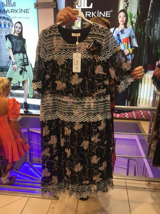 Большие размеры платья 1011116