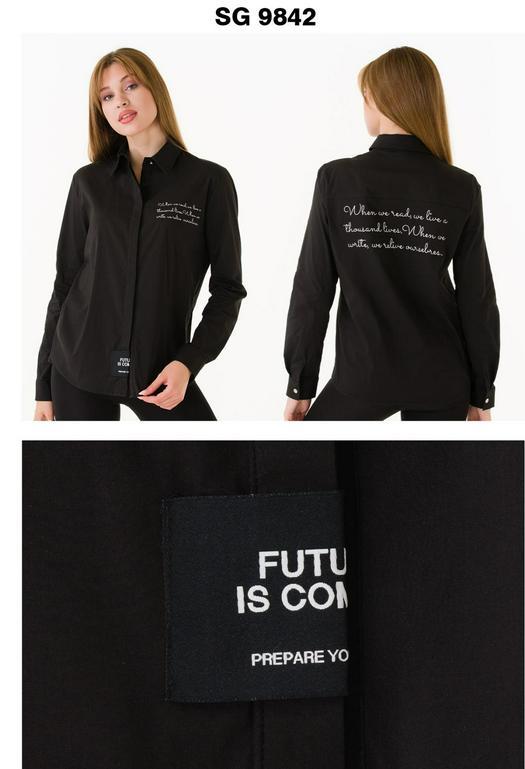 Женские рубашки 1012344
