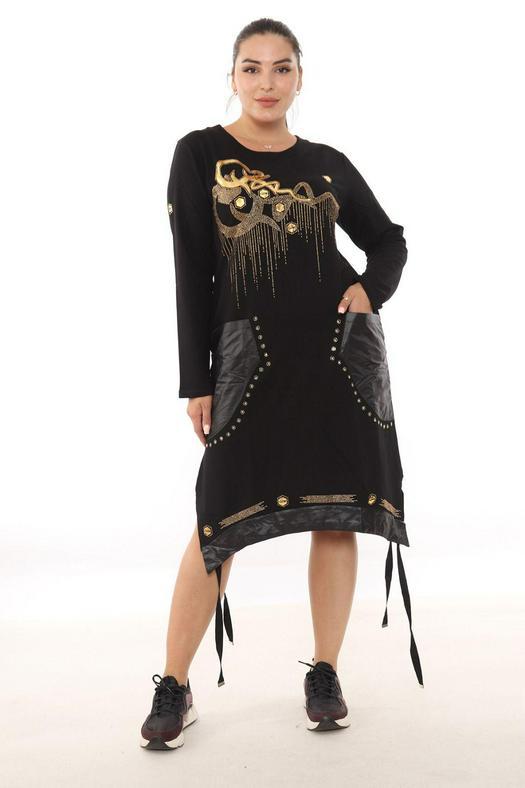 Большие размеры платья 1012315