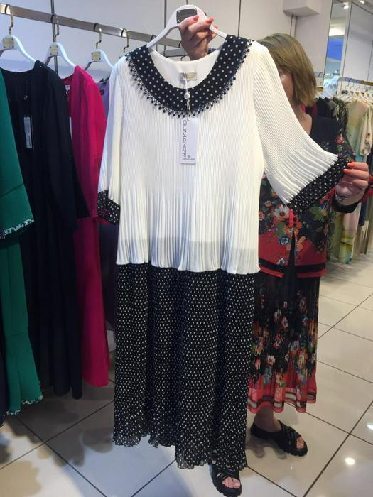 Большие размеры платья 1011111