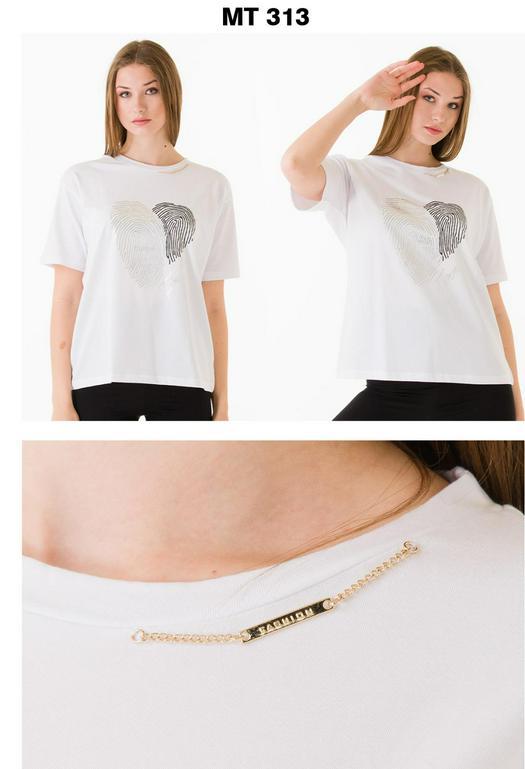 Женские футболки 965602