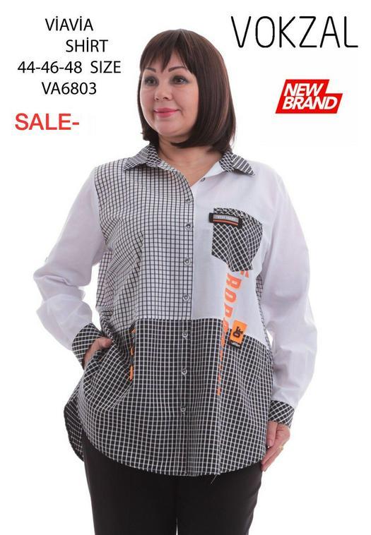 Блузки баталы 993884