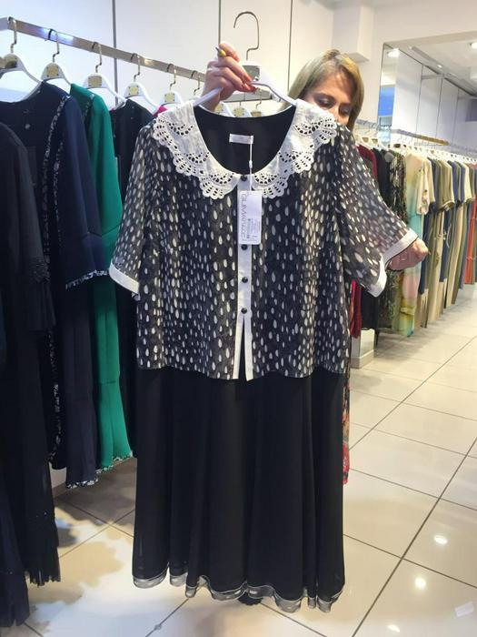 Большие размеры платья 1011123