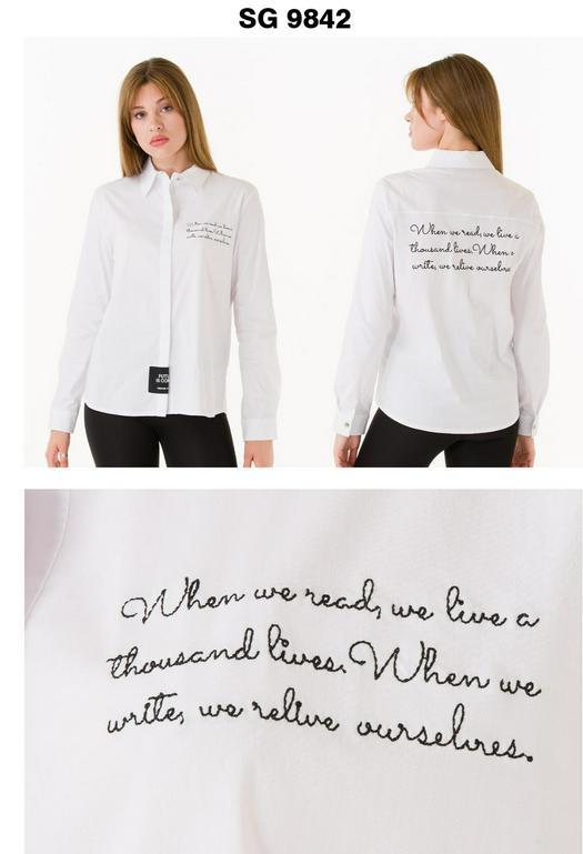 Женские рубашки 1012341