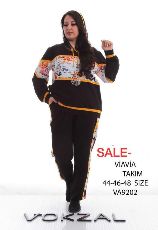Спорт костюмы баталы 993916