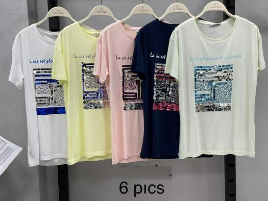 Женские футболки 820373