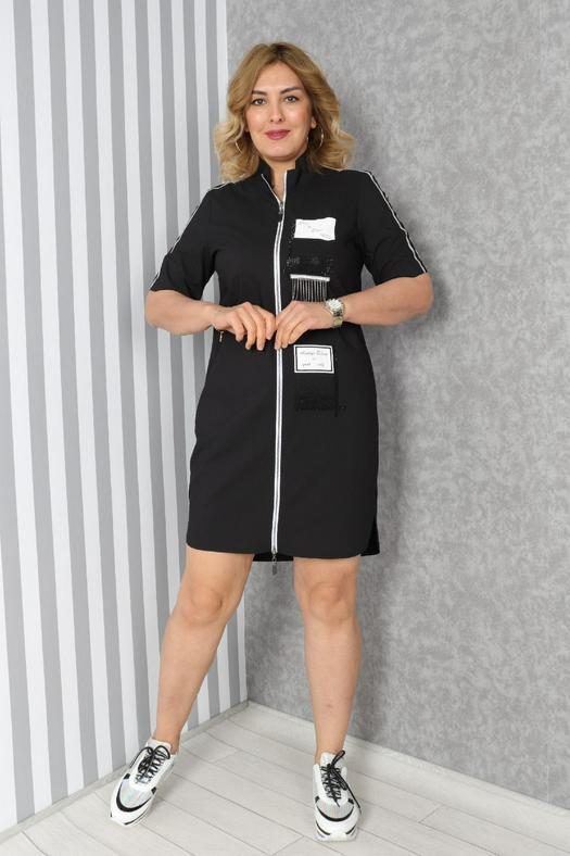 Большие размеры платья 965833