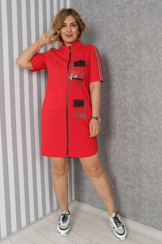 Большие размеры платья 965831