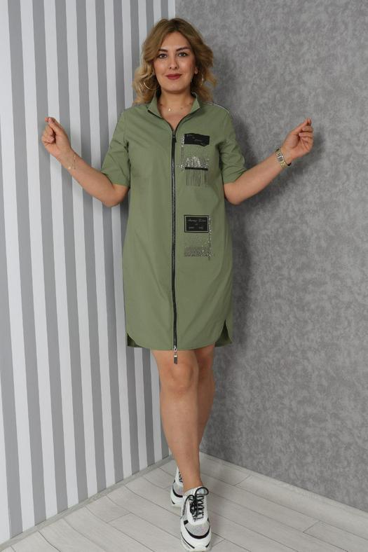 Большие размеры платья 965832