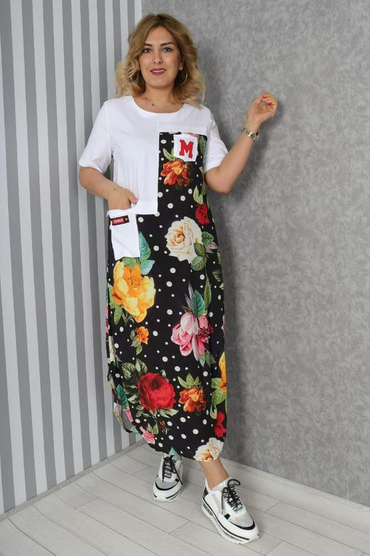 Большие размеры платья 965838