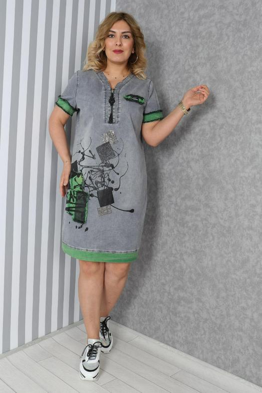 Большие размеры платья 965828