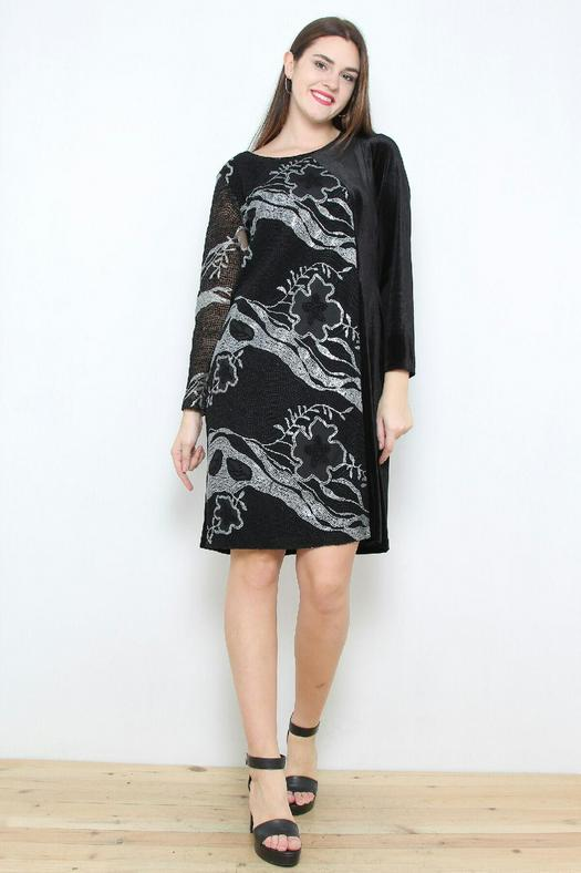 Большие размеры платья 1057138