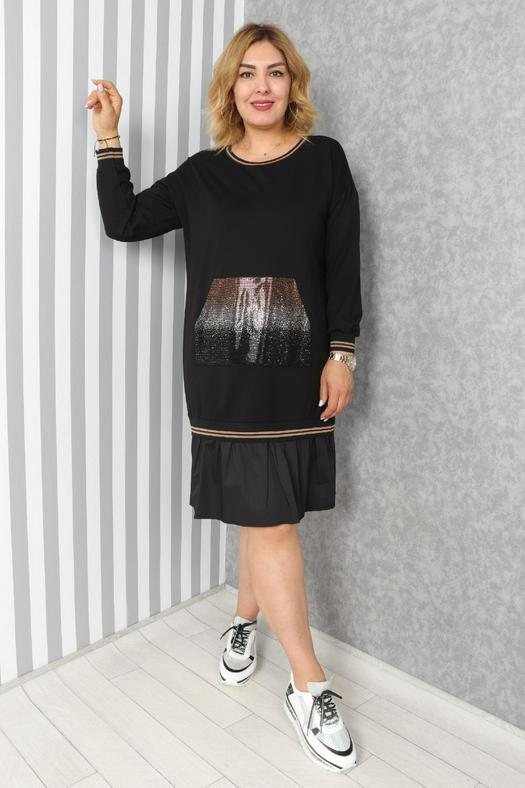 Большие размеры платья 1057140