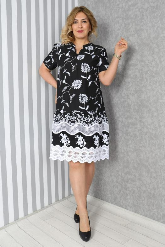 Большие размеры платья 965841